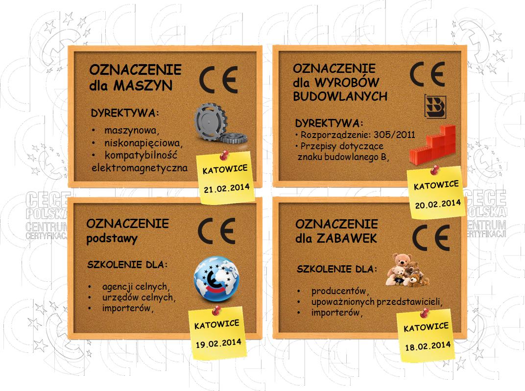 oznakowanie CE szkolenia - Katowice 2014