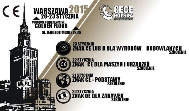 Szkolenie CE w Warszawie 2015