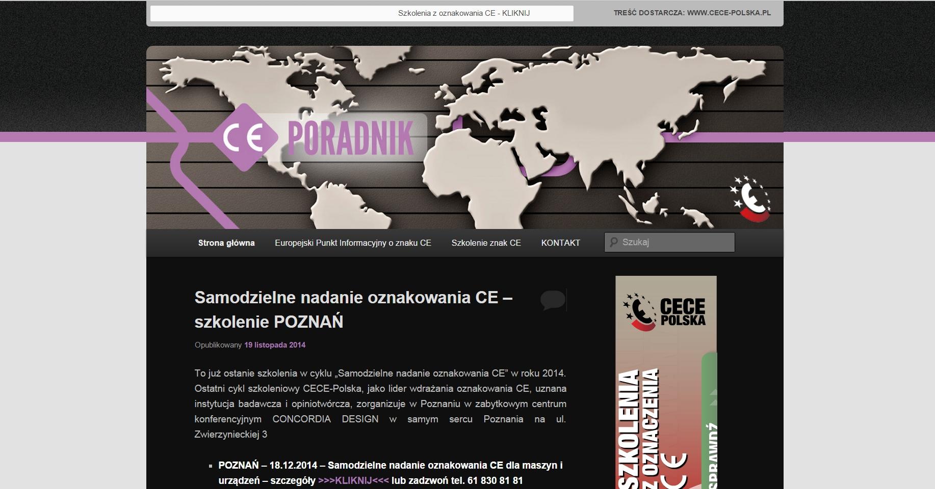 strona startowa ce-poradnik.pl
