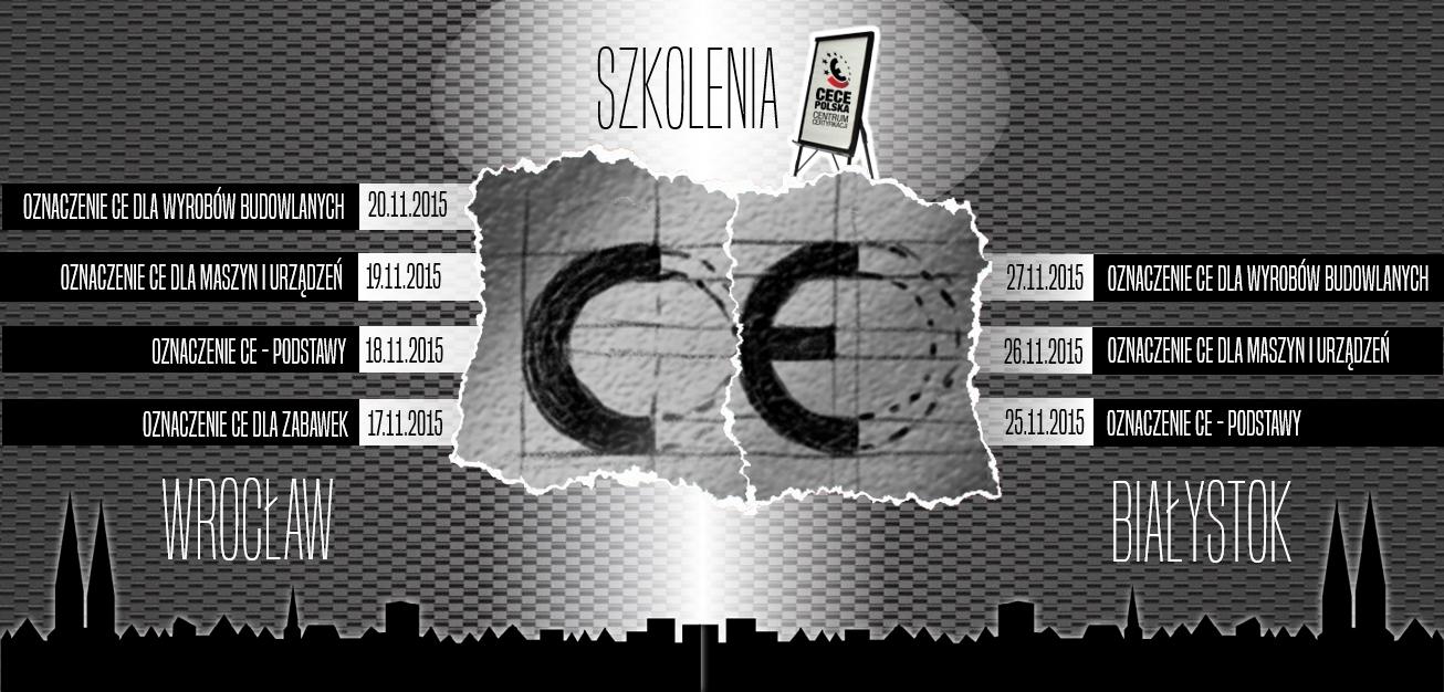 certyfikacja CE - szkolenia znak CE