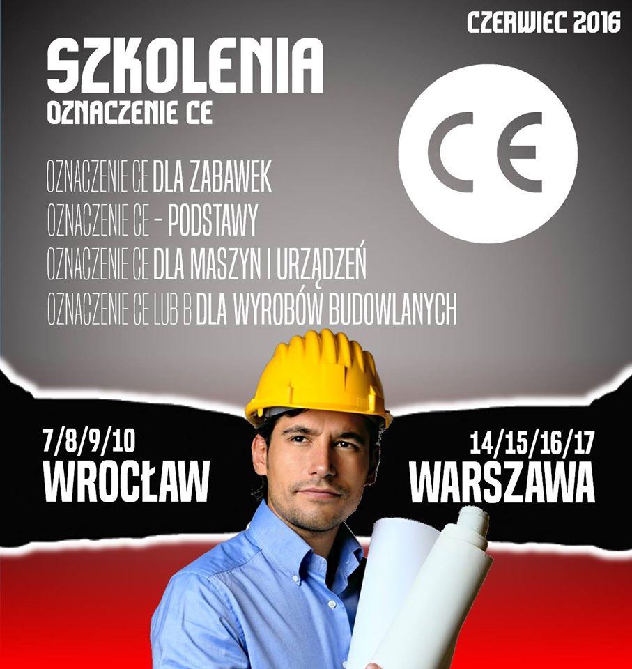 Znak CE szkolenia w Warszawie