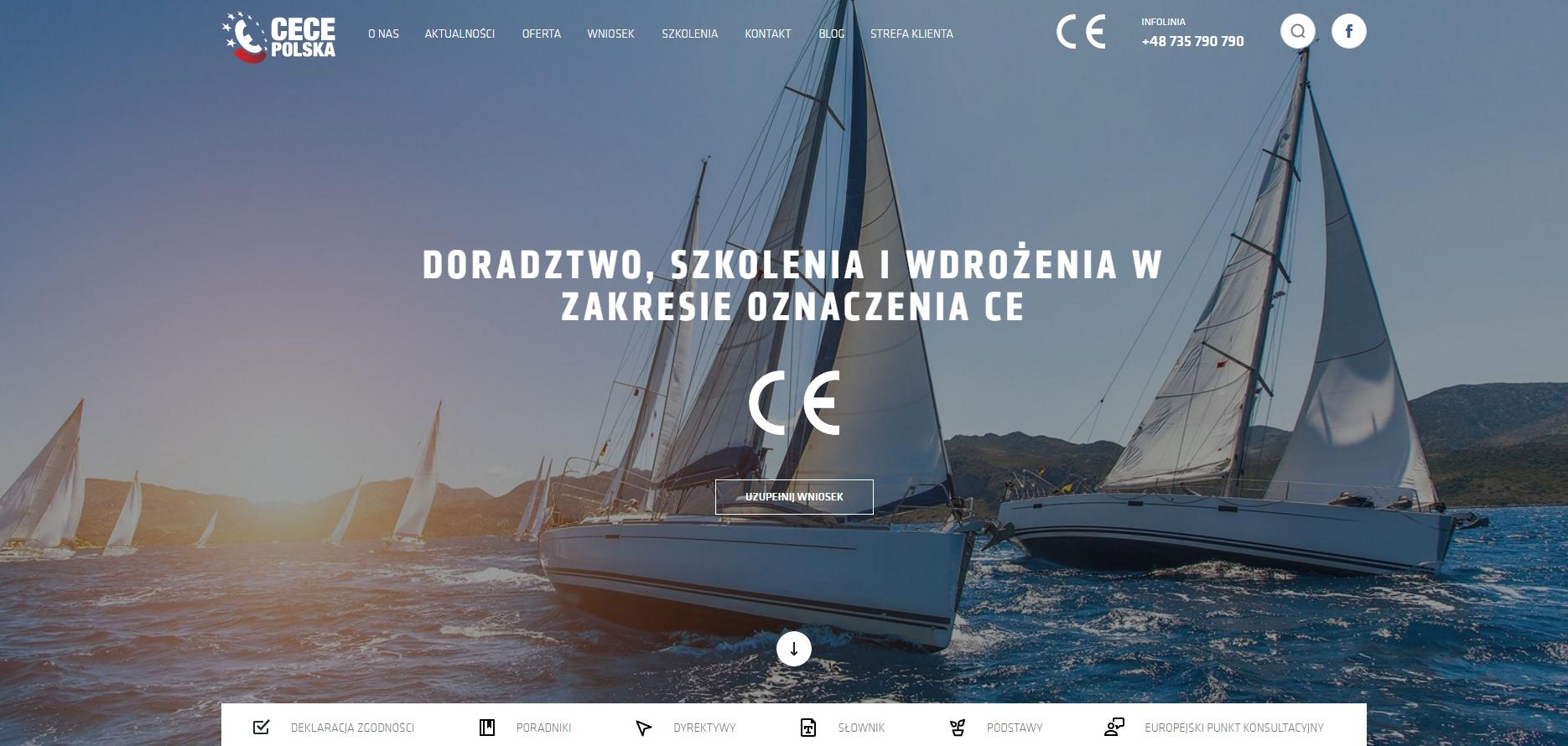 Największy serwis dotyczący oznakowania CE rusza już listopadzie